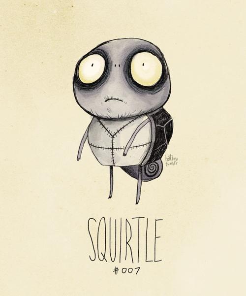 Illustration - hathey tunir SQURTLE #007