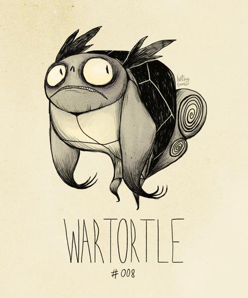 Cartoon - hathe (unr WARTORTLE #008