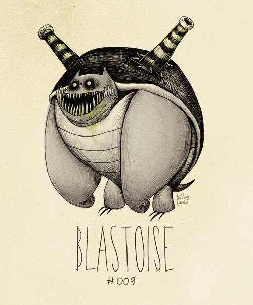 Illustration - hathey tur BLASTOSE #009