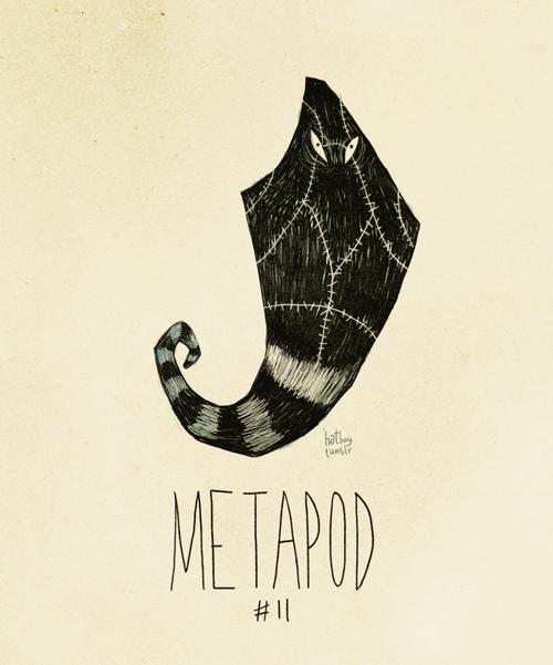 Font - hatte METAPOD