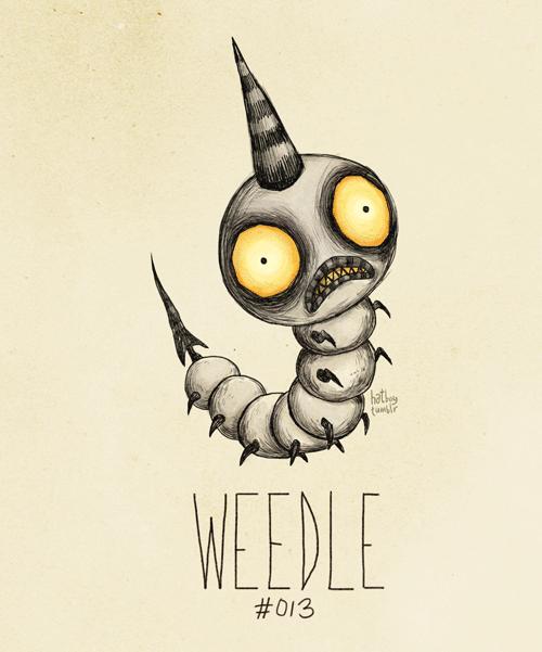 Illustration - hatk WEEDLE #013