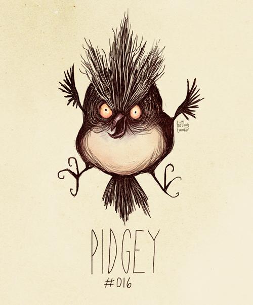 Illustration - hatke fun PIDGEY #016