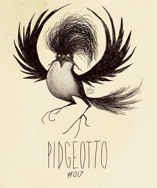 Text - hathey PIDGEOTTO #017