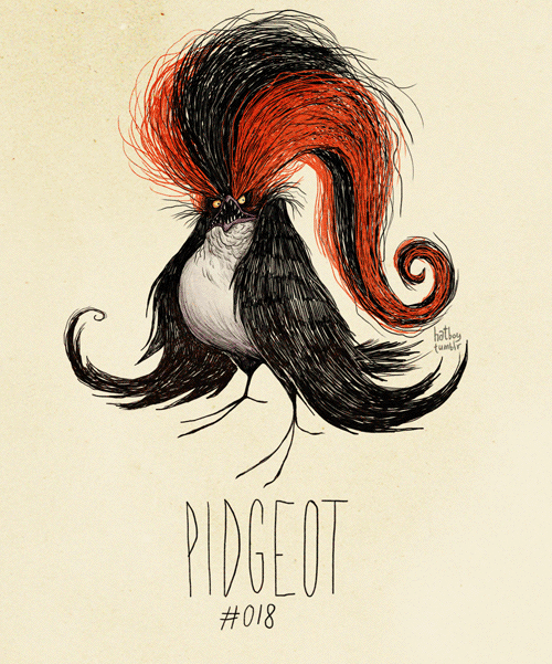 Hair - hathe PIDGEOT #018