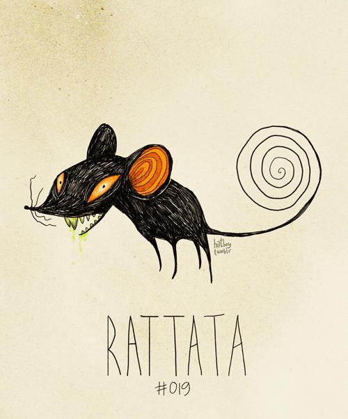 Illustration - hatl (unr RATTATA #019
