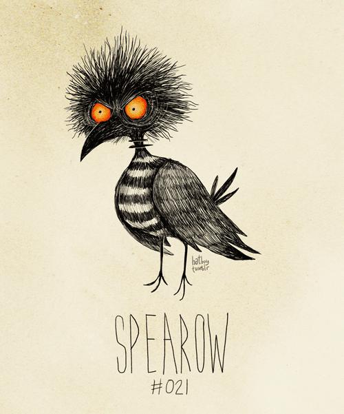 Bird - hathe SPERUW #021
