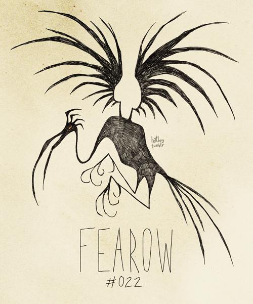 Illustration - hate (ur FEAROW #022