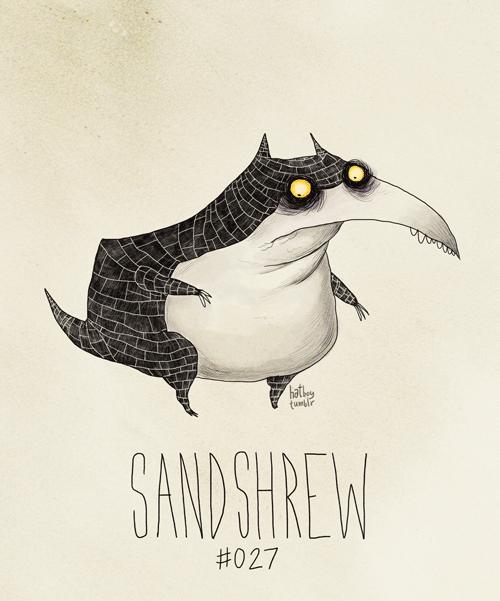 Illustration - hatley tuir SAND SHREW #027