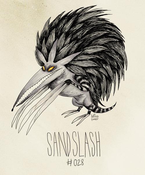 Drawing - bathe tulr SANISLASH 028