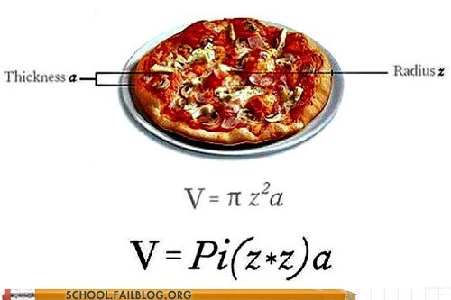 geometry pizza math funny - 7531918848