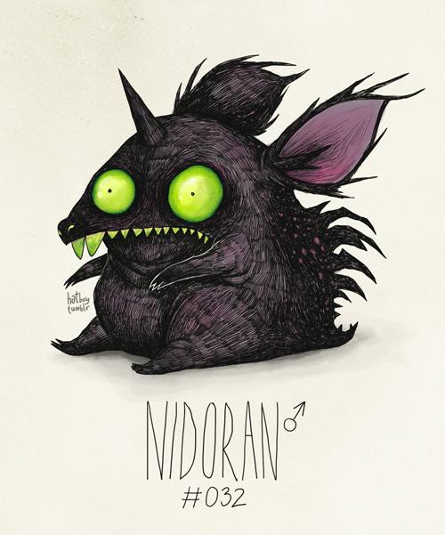 Illustration - hatkery NIDORANF #032