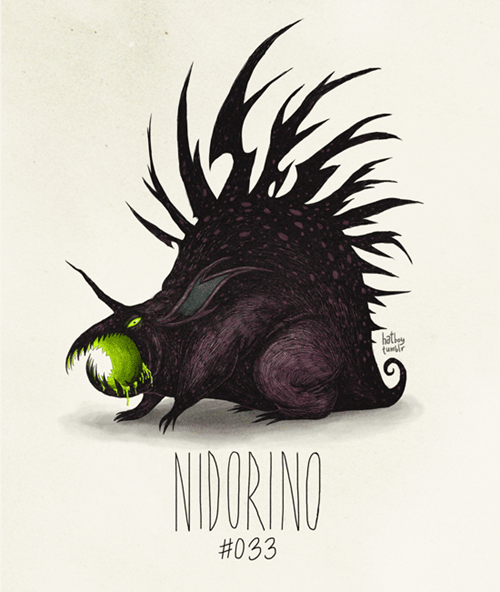 Illustration - hath NIDORING #033