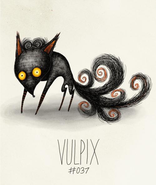Black cat - VULPIX #037