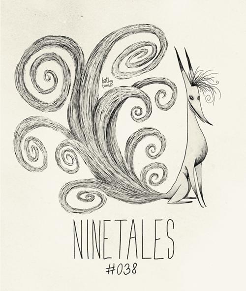 Line art - hath tur NINE TALES #038