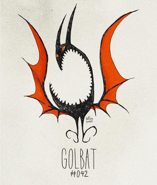 Illustration - hat GOLBAT H042