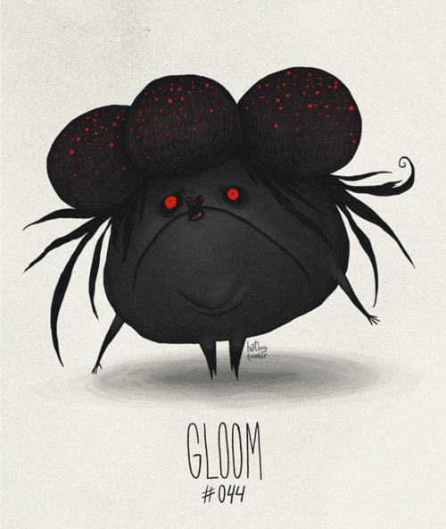 Cartoon - hatt GLOOM #044
