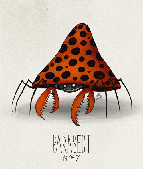 Orange - hat funr PARASECT #047