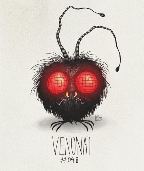Illustration - hat VENONAT H048