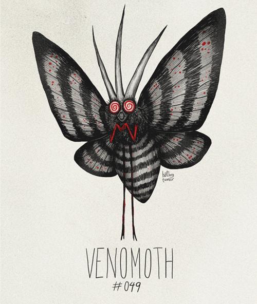Insect - EA VENOMOTH #099