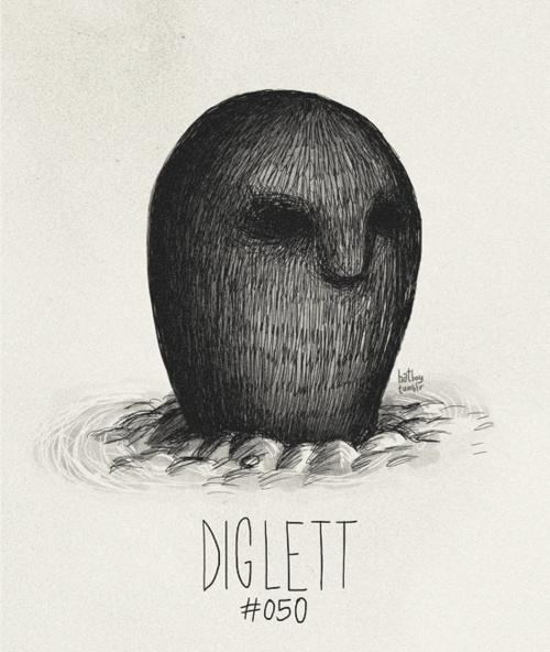 Hair - bath DIGLETT #050
