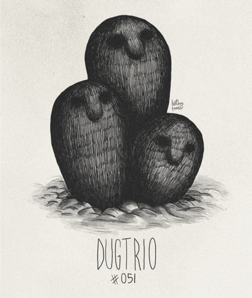 Illustration - hat DUGTRIO 051