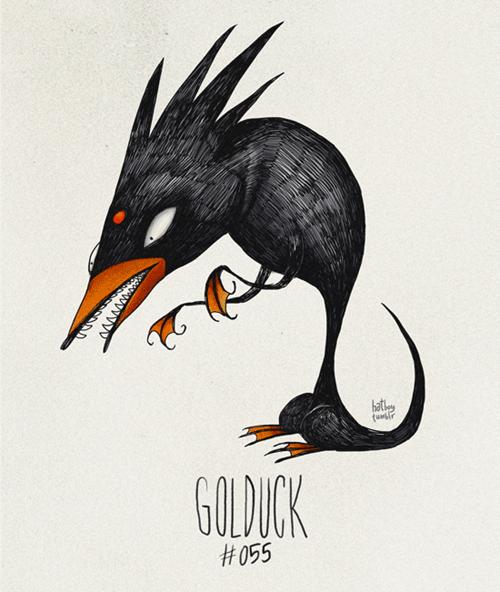 Bird - hat GOLDUCK t055