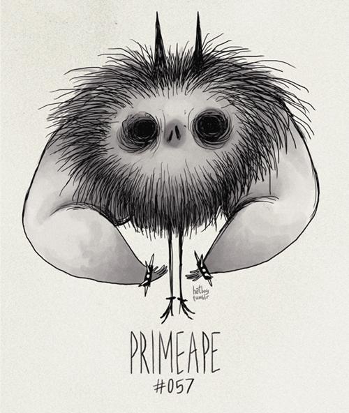 Cartoon - hat PRIMEAPE #057