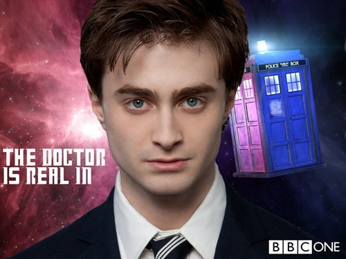 rumors Daniel Radcliffe series 8 doctor who