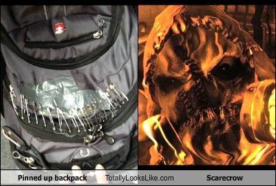 backpacks scarecrow totally looks like funny - 7532026112