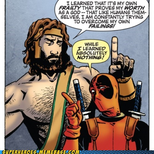 deadpool off the page life lessons funny - 7533084928