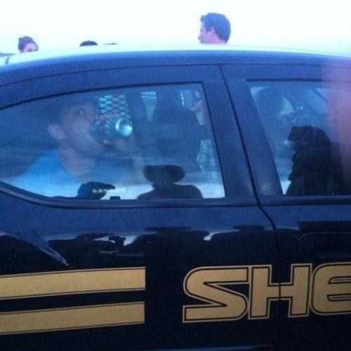 beer drinking drunk arrested dui funny police - 7533451776