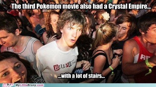 crystal empire Pokémon Memes sudden clarity clarence - 7533501440