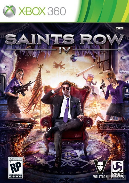 box art,saints row IV