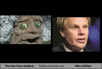 trees,mike jeffries,totally looks like,funny
