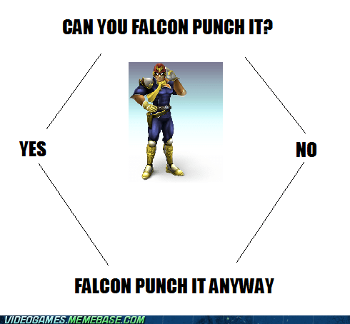 falcon punch,captain falcon
