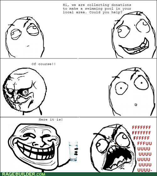 trolling swimming pool fundraiser funny - 7533769984