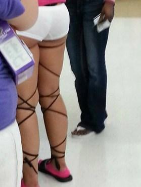 cross garters short shorts funny - 7533886464