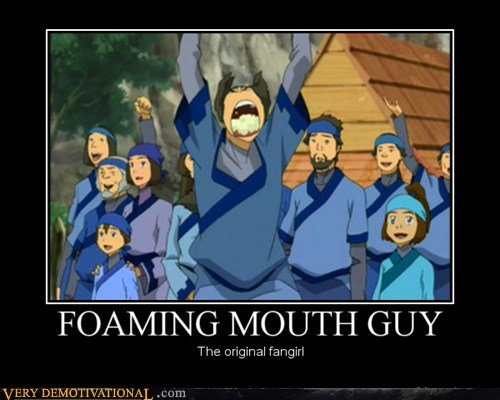foaming mouth Avatar funny fangirl