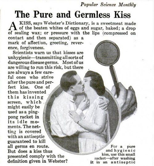 retro KISS germs science funny - 7534333184