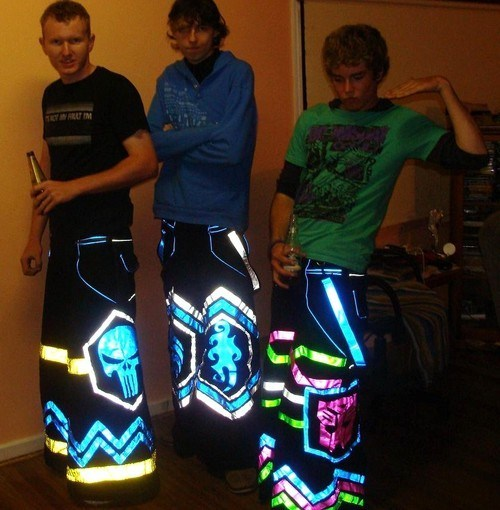transformers punisher pants glow in the dark funny - 7534345216