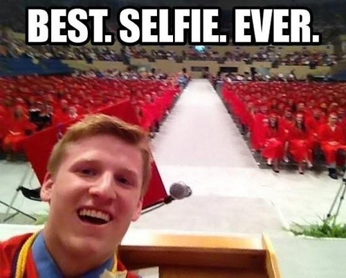 selfie,graduation,awesome