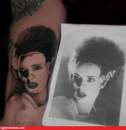 wtf frankenstein tattoos funny derp - 7534467072