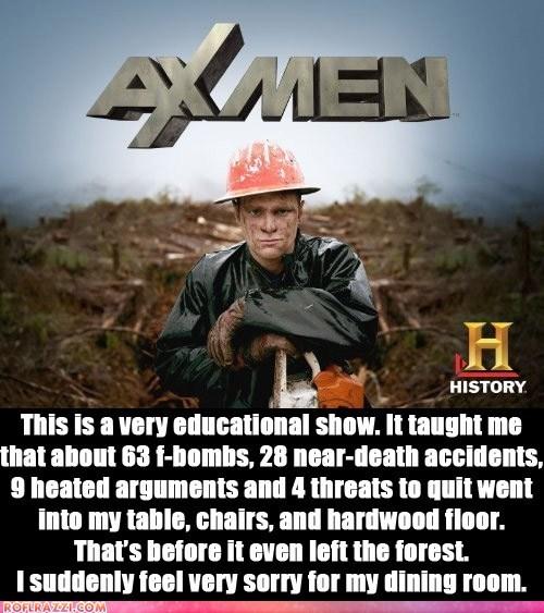 ax men,americana,reality tv