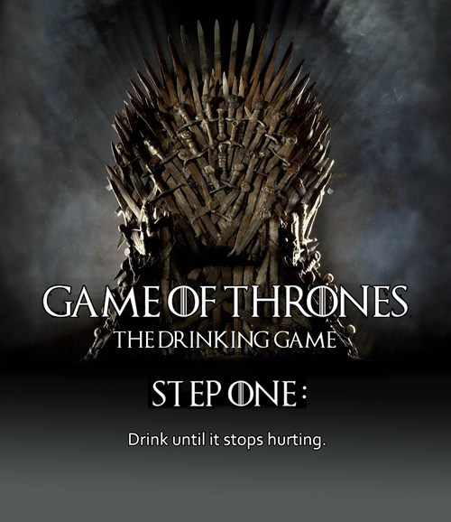 Game of Thrones red wedding drinking game - 7534493440