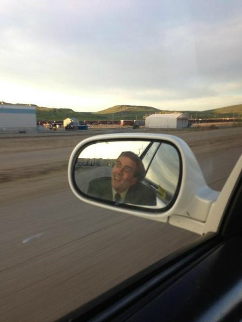 you dont say nicolas cage sideview mirror funny
