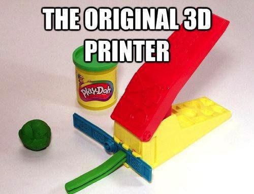 play-doh nostalgia 3d printers - 7534610944