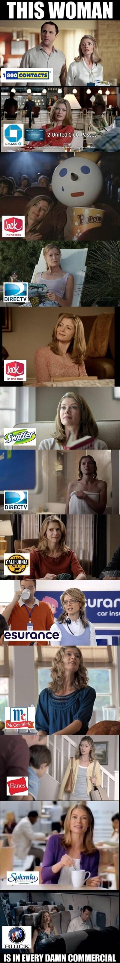actresses commercials funny - 7534622464