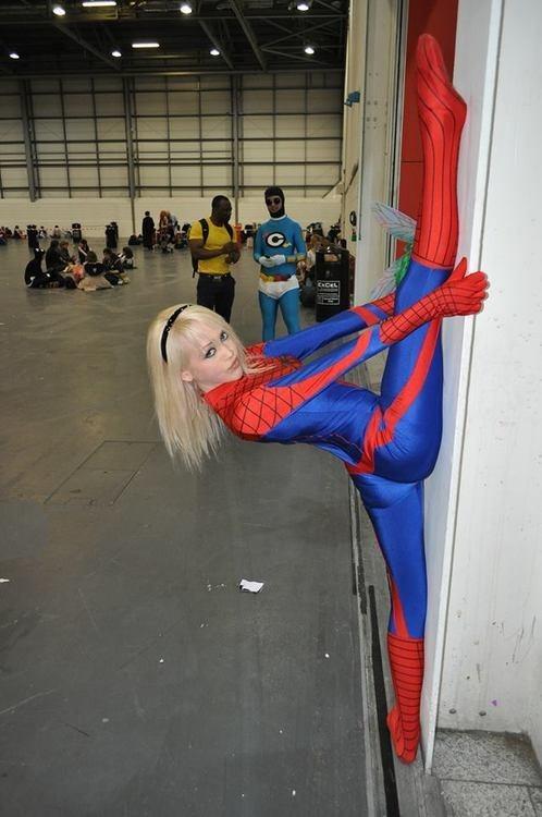 costume spider-girl stuck funny - 7534746624