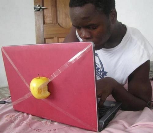 laptops,apple,funny,g rated,there I fixed it