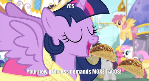 tacos twilight sparkle hungry twilight - 7534857728